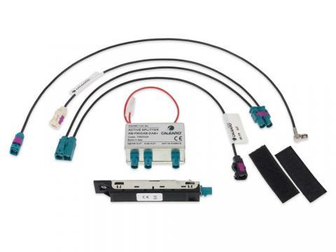 3 In 1 DAB FM AM Aktiv Antenne Splitter Adapter Kabel KFZ Auto Radio Verstärker