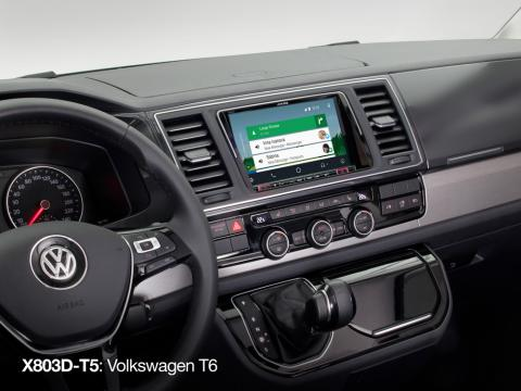 X803D-T5_Navigation-System-for-VW-T6_with-Android-Auto-Screen