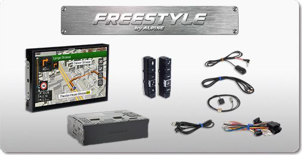 Freestyle 9-Zoll Navigationssystem