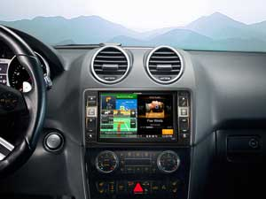 alpine on alpine gps navigation system