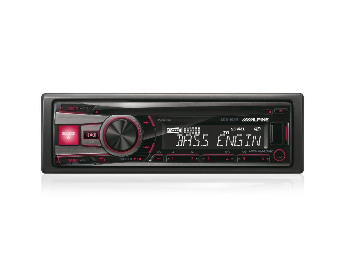 CD RECEIVER MIT USB UND iPod CONTROLLER - Alpine - CDE-192R
