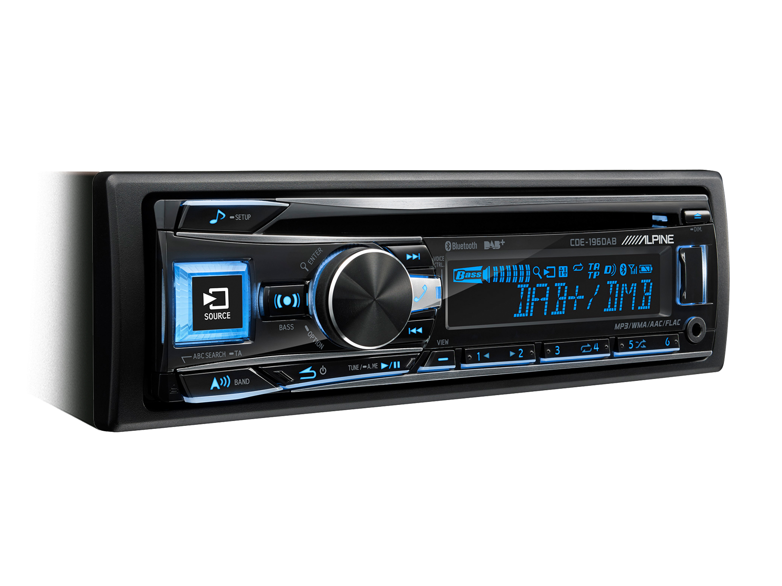 CD/DAB+ RECEIVER MIT BLUETOOTH® - Alpine - CDE-196DAB