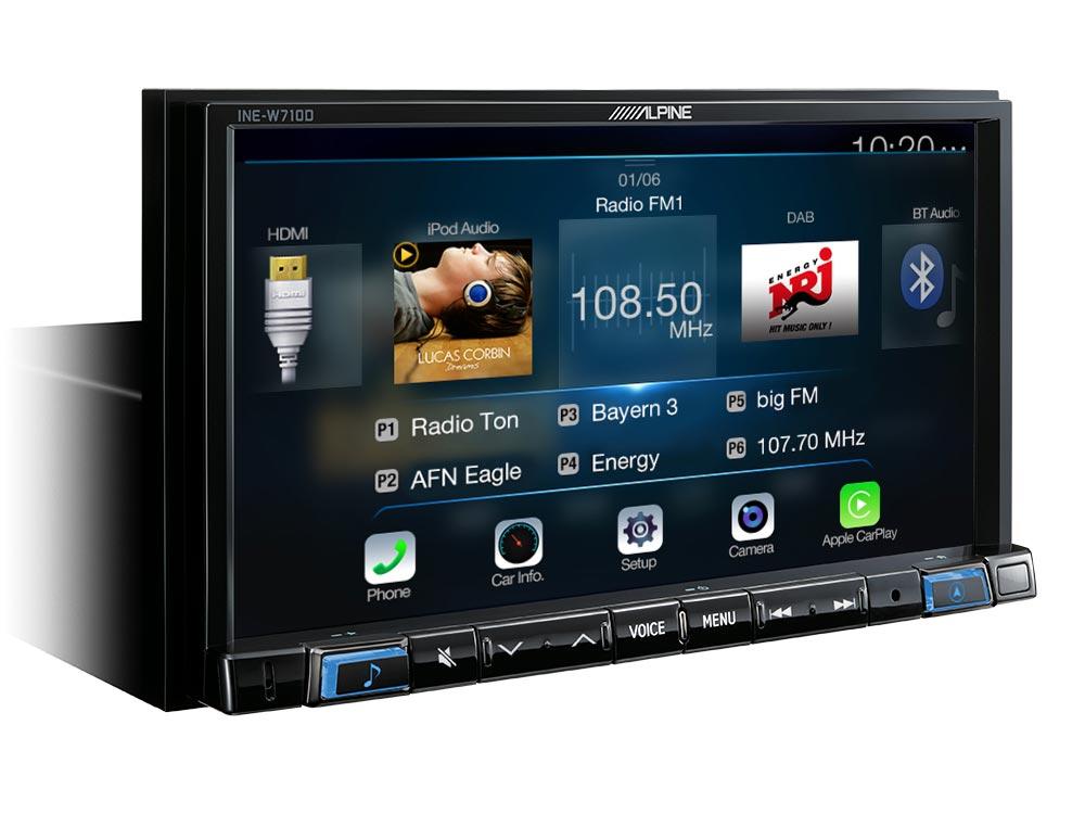 Advanced Navi Station mit kapazitivem 7-Zoll Display, Apple CarPlay ...