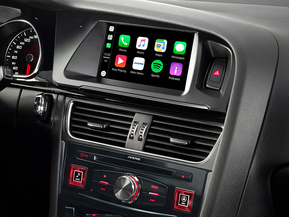 7 zoll premium infotainment system f r audi a5 mit. Black Bedroom Furniture Sets. Home Design Ideas