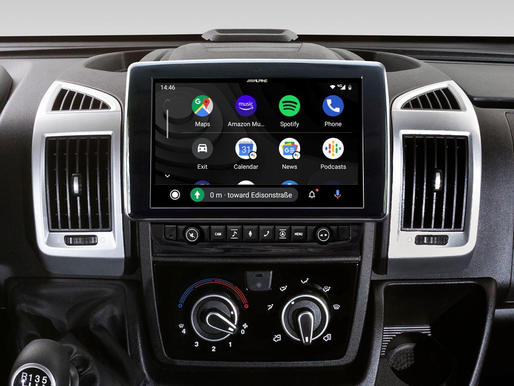 9-Zoll-Navigationssystem mit Tochscreen für Fiat Ducato III ...