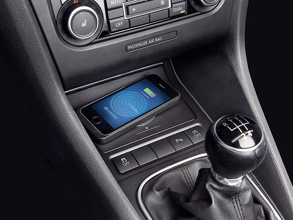 Wireless Ladestation F 252 R Volkswagen Golf Vi Alpine Kce