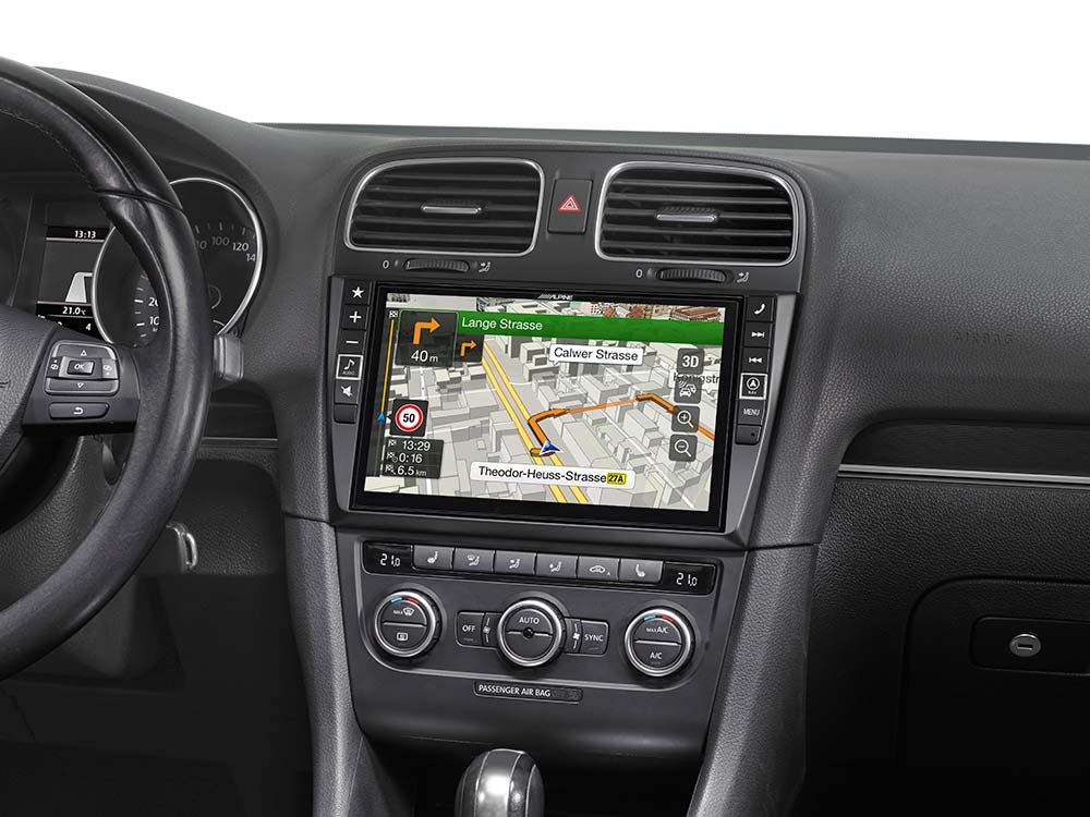 navigation system f r volkswagen golf 6 alpine x901d g6. Black Bedroom Furniture Sets. Home Design Ideas