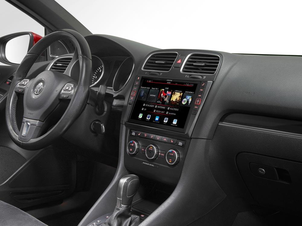 9-Zoll Premium-Infotainment-System für Volkswagen Golf 6 mit ...