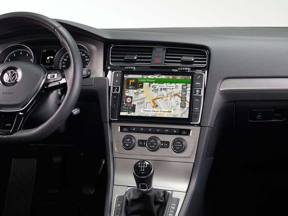 9 Zoll Premium Infotainment System Für Volkswagen Golf 7 Mit