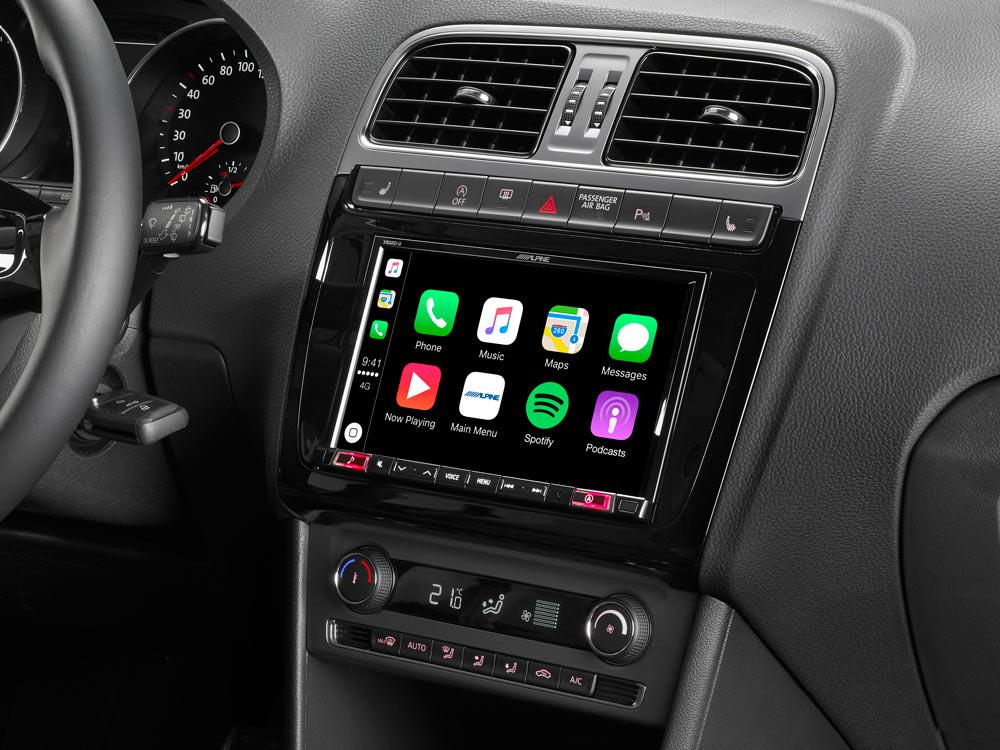 Sony Autoradio für VW Polo 6R Bluetooth CD MP3 USB Auto Einbauzubehör Einbauset