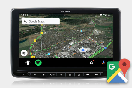 Google Maps - INE-F904DC