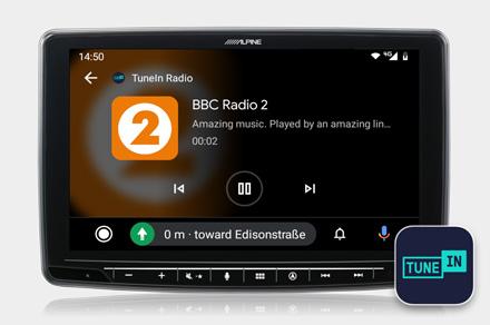 INE-F904DC - TuneIn Radio