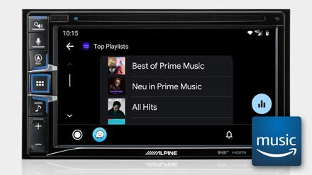 Amazon Music - INE-W611DC