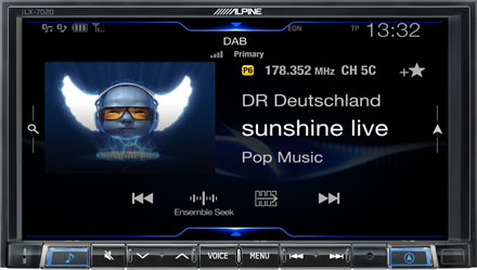 DAB+ Digital Radio - iLX-702D