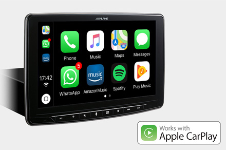 INE-F904DU - Works with Apple CarPlay