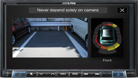 Drive-Assist Cameras - INE-W720D