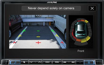 Drive-Assist Cameras - X802D-U