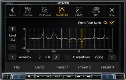 High-end Sound Tuning Options - X802D-U