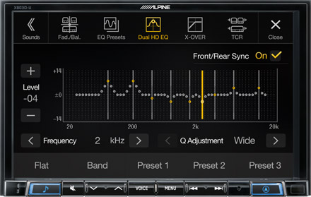 High-end Sound Tuning Options - X803D-U