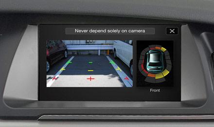 Audi A4 - X703D-A4: Parking Support