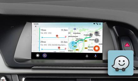 7 Zoll Premium Infotainment System Fur Audi A4 Mit Navigationssystem Apple Carplay Und Android Auto Unterstutzung Alpine X703d A4