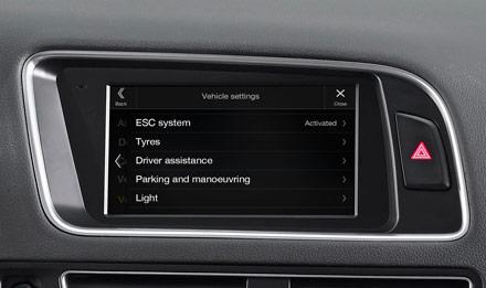 Audi Q5 - X703D-Q5: Vehicle Information