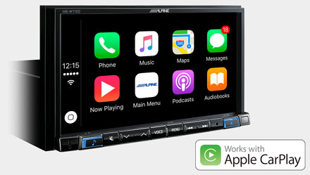BMW 3 E46 - Works with Apple CarPlay - INE-W720E46