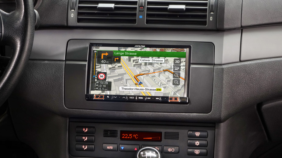 Integrated Navigation in your BMW 3 E46 - INE-W720E46