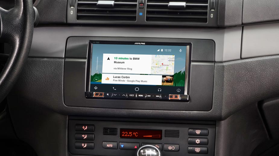 Online Navigation in your BMW 3 E46 - iLX-702E46