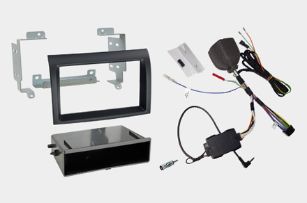 INE-F904DU - 1DIN installation kit included
