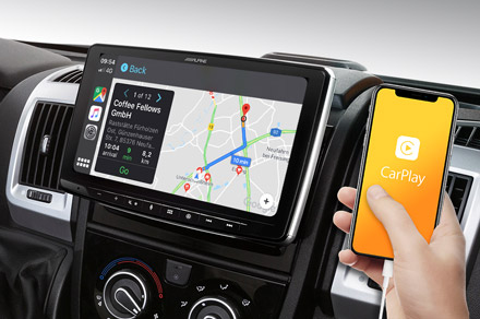 INE-F904DU - Online Navigation with Apple CarPlay