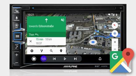 Google Maps - INE-W611DU