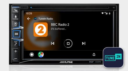 TuneIn Radio - INE-W611DU