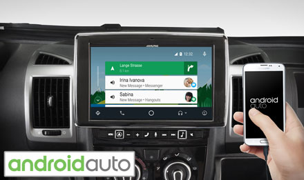 Ducato, Jumper and Boxer - Works with Android Auto - X902D-DU