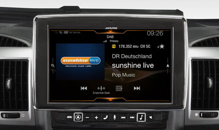 Ducato, Jumper and Boxer - DAB Digital Radio - i902D-DU