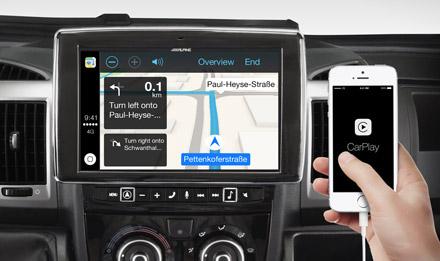Online Navigation with Apple CarPlay - i902D-DU