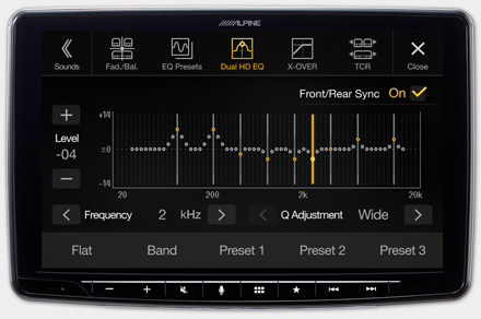 iLX-F903F312B - High-end Sound Tuning Options