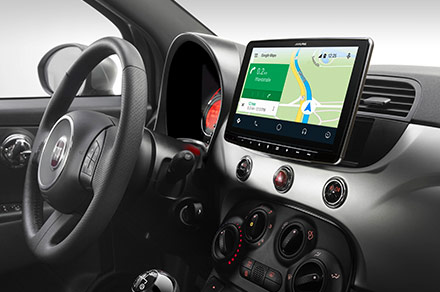 iLX-F903F312B - Online Navigation with Android Auto