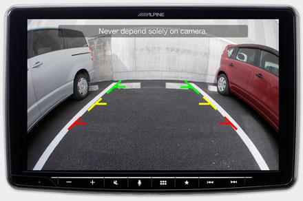 iLX-F903TRA - Drive-Assist Cameras