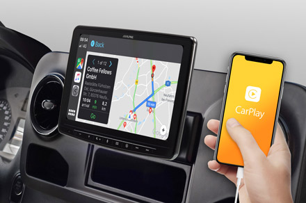 INE-F904S907 - Online Navigation with Apple CarPlay
