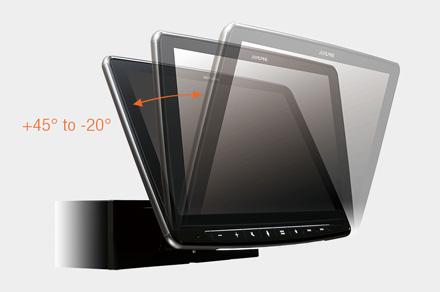 iLX-F903S907 - Adjustable Display Angle