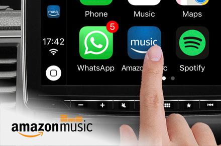 Alpine iLX-F903S907 - Amazon Music