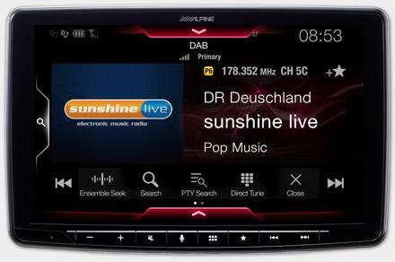 iLX-F903S907 - Built-in DAB+ Digital Radio