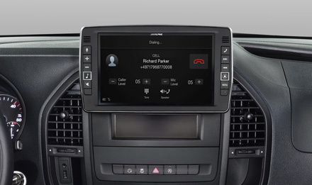 Mercedes Vito - Built-in Bluetooth® Technology - X902D-V447