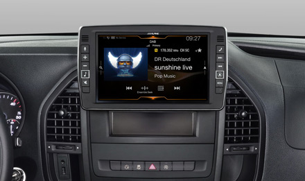 Mercedes Vito - DAB Digital Radio - X902D-V447