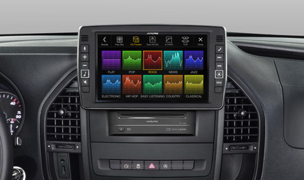Mercedes Vito - Sound Pre-sets  - X903D-V447