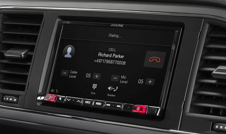 SEAT Leon - Built-in Bluetooth® Technology - iLX-702LEON
