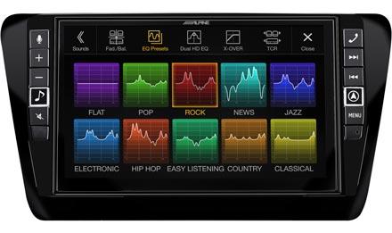 Skoda Octavia 3 - Sound Pre-sets - X902D-OC3