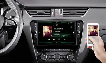 Skoda Octavia 3 - Connect Your Smartphone - X902D-OC3