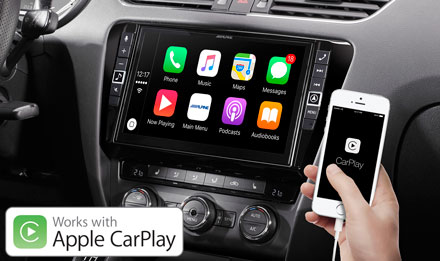 Skoda Octavia 3 - Works with Apple CarPlay - i902D-OC3
